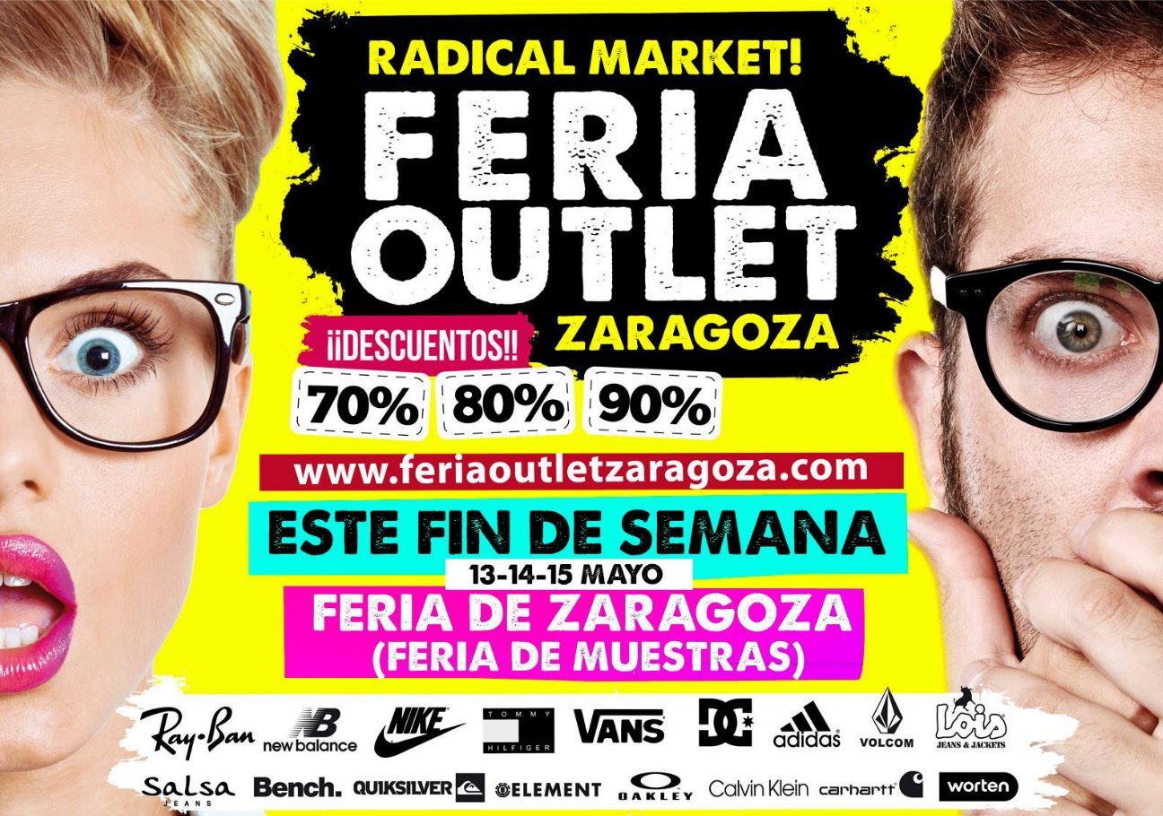 La Feria Oulet, Radical Market!, llega a Zaragoza