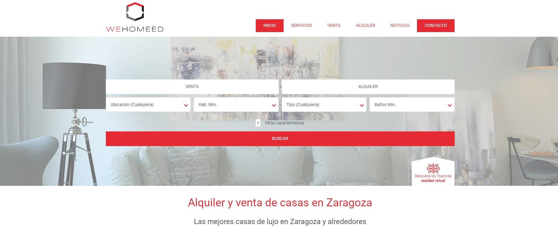 Descubriendo Zaragoza: Wehomeed